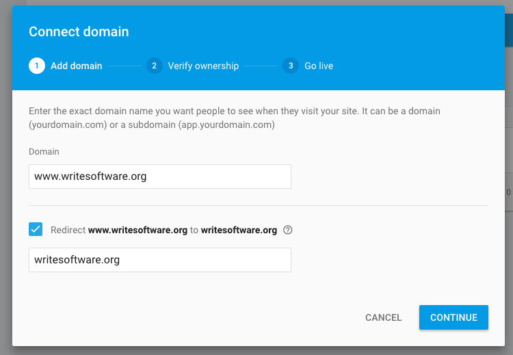 How to start with Firebase Hosting