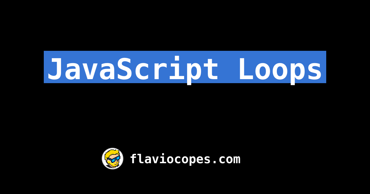 How to loop through an array in JavaScript