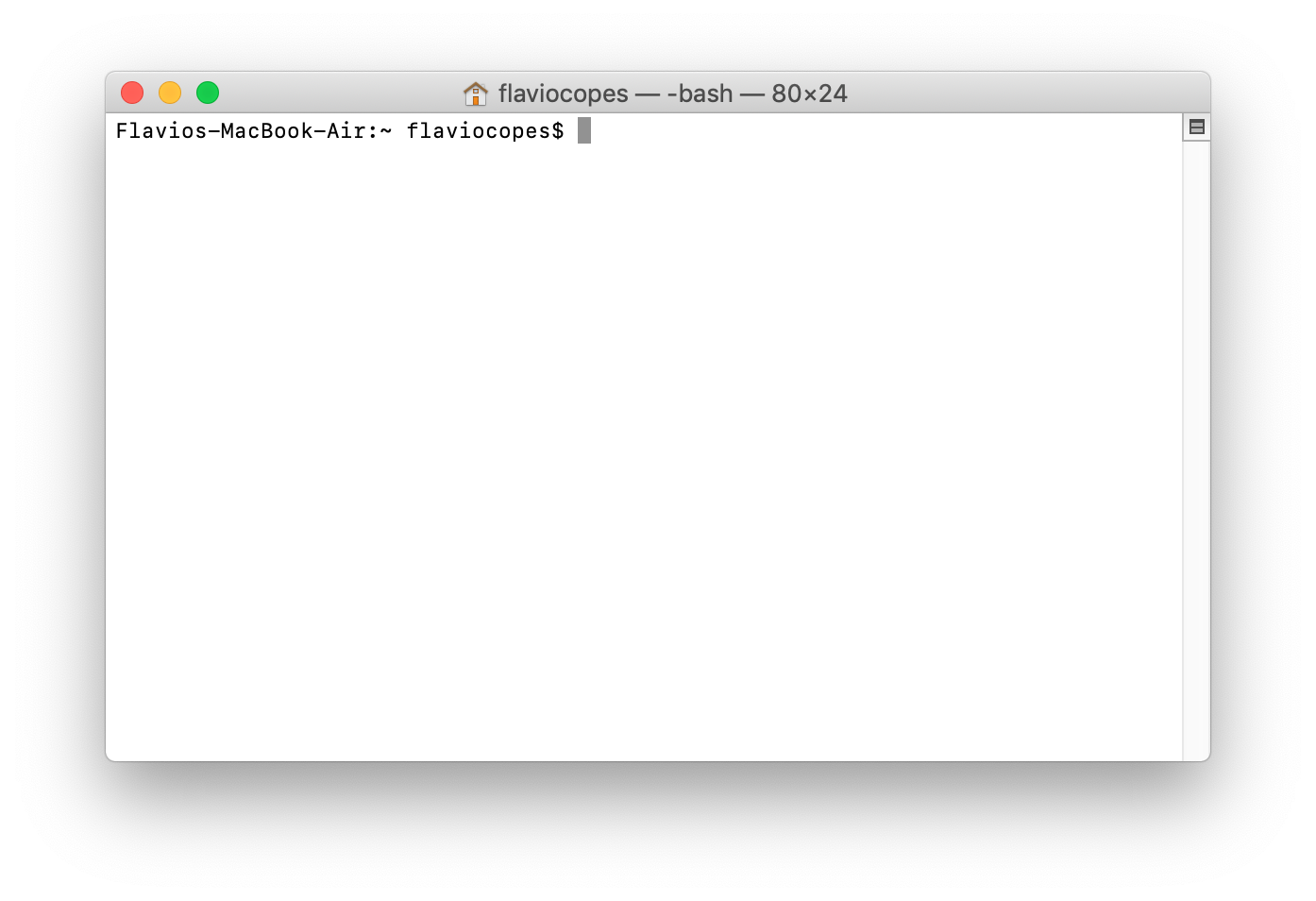 Configuring the macOS command line