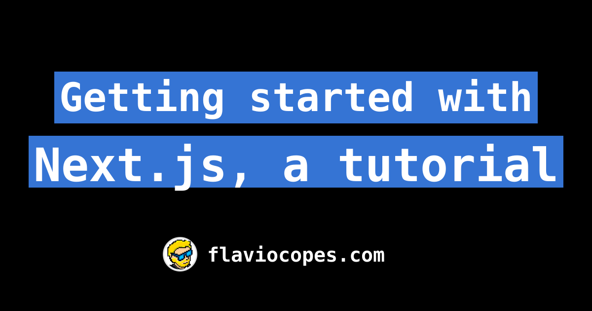 Getting started with Next js